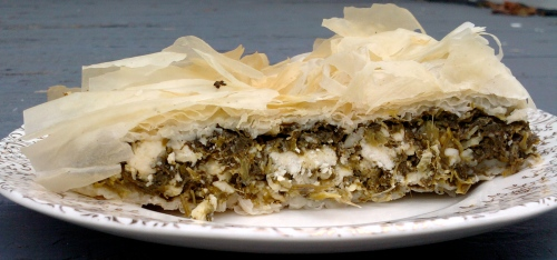Better than a Greek restaurant Spanakopita: Ingredients